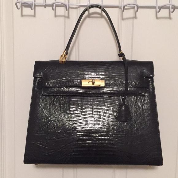 Laurent Effel Bags   Birkin Satchel Black Bag   Poshmark e416975786